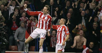 Crouch: In the running for Goal of the Season