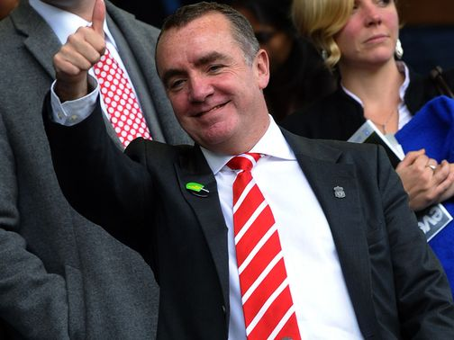 Ian Ayre: Looking to keep the club's world-class stars