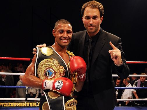 Eddie Hearn is very confident Kell Brook will beat Devon Alexander