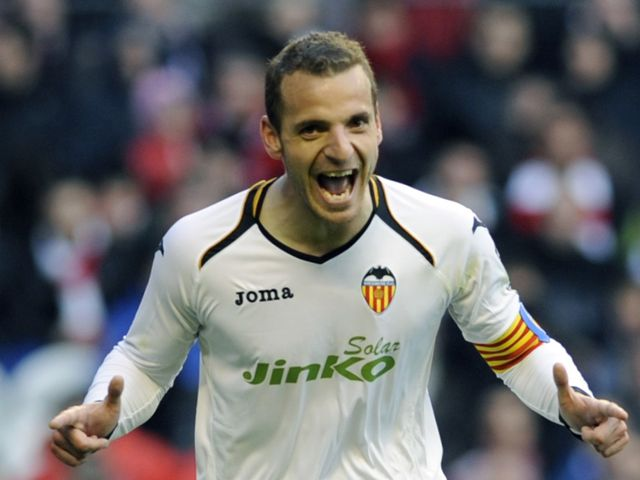 Roberto Soldado: Scored twice for Valencia