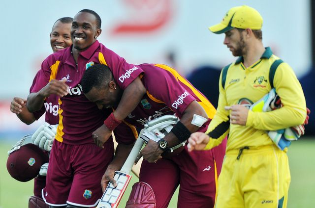 Pollard and West Indies enjoy their victory