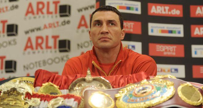 Klitschko: knockouts not high on his agenda, says Jim