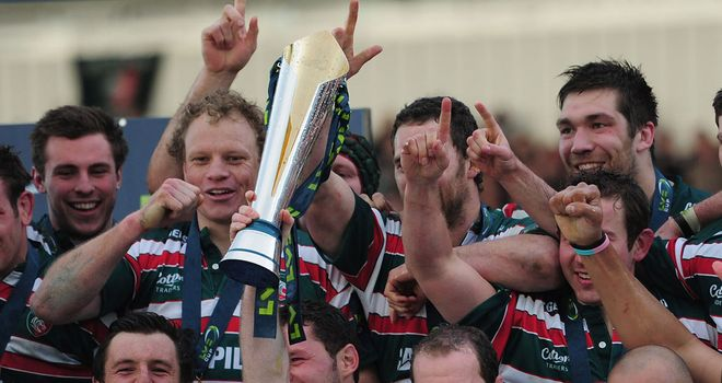 Leicester Tigers: LV= Cup winners at Sixways