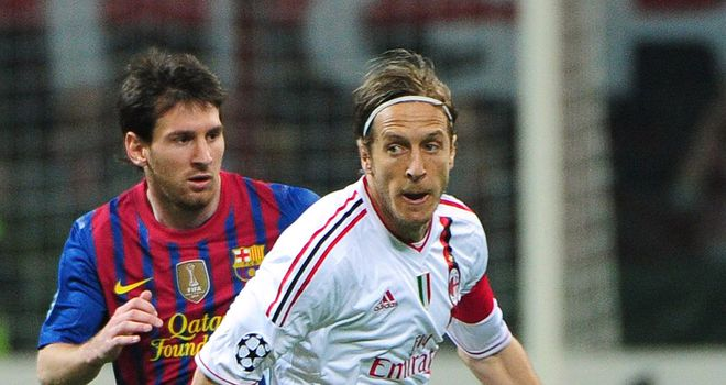 Massimo Ambrosini: Has been at AC Milan since joinign the club from Cesena in 1995