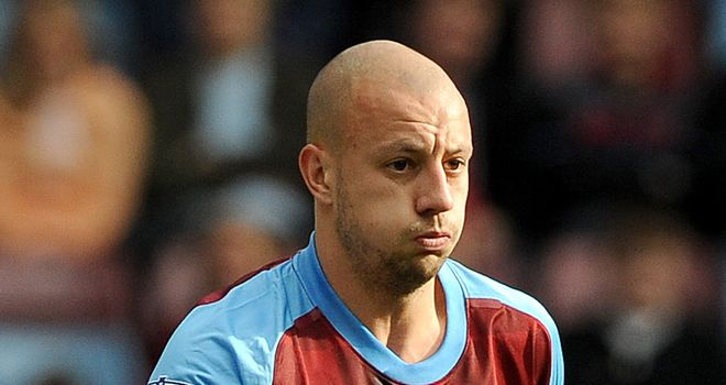 Alan Hutton: Aston Villa full-back is hoping to make it back for pre-season training