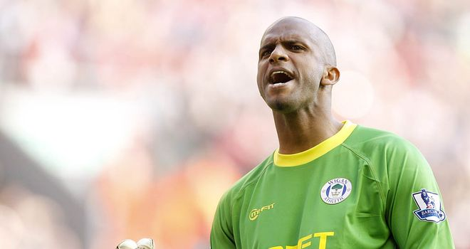 Ali Al Habsi: Adamant that he did not cheat against Arsenal