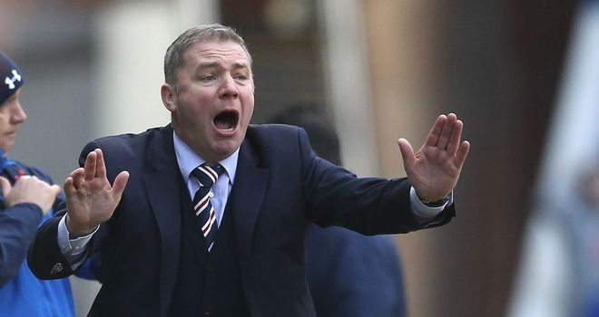 Ally McCoist: Wants Rangers to be responsible and disciplined at all times