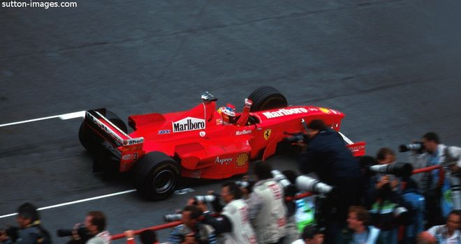 Michael Schumacher wins in Argentina in 1998 - the last F1 race held in the country