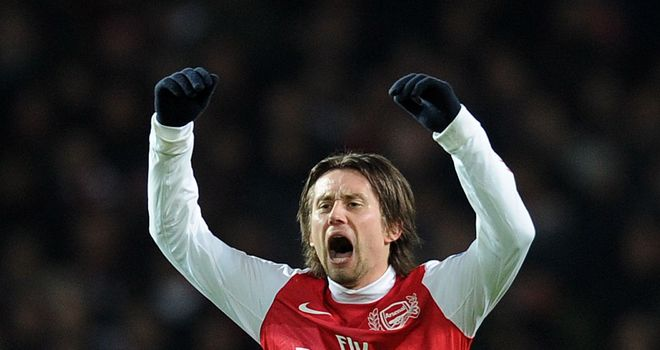 Tomas Rosicky: Arsenal midfielder is happy to have signed a new contract at Emirates Stadium