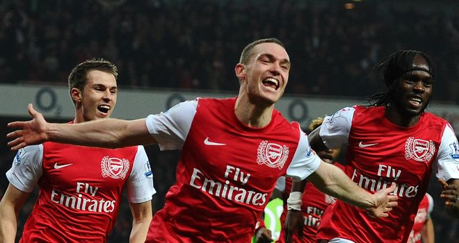 Arsenal: came from behind again