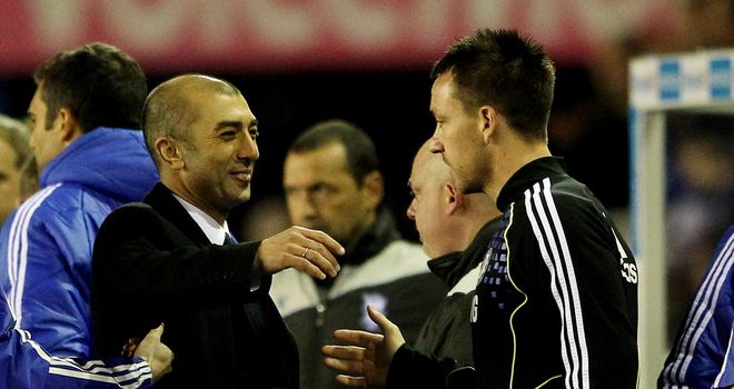 Roberto Di Matteo is delighted to have John Terry available again