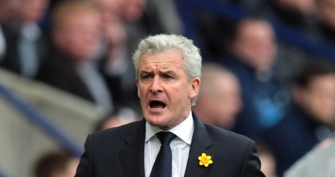 Mark Hughes: Ready for the Premier League relegation battle ahead