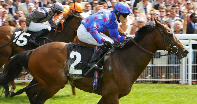 Borderlescott: Hugely popular winner of Beverley feature