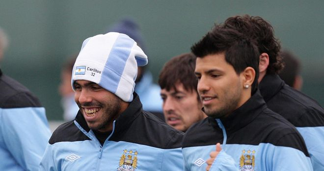 Sergio Aguero: Ready to stay and link-up with Carlos Tevez