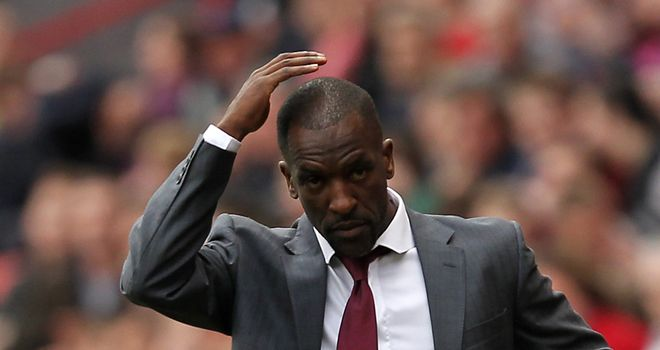Chris Powell: Charlton boss was left to rue missed chances following the home defeat by Watford