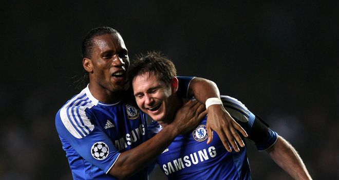 Old guard: Frank Lampard and Dider Drogba still have a part to play for Chelsea, says Jamie