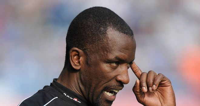 Chris Powell: The Charlton boss had to settle for a draw