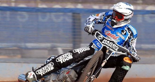 Darcy Ward: In action for Poole Pirates