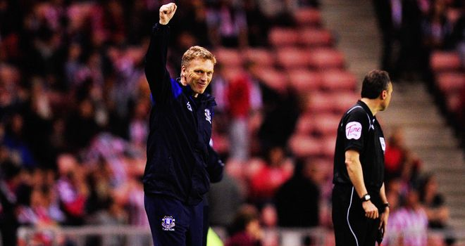 David Moyes: Everton boss pleased with the good results of his team
