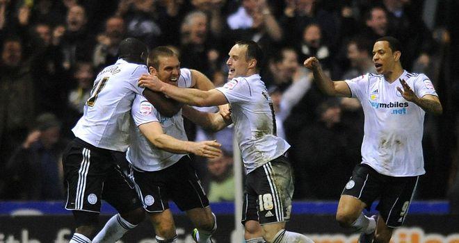 Buxton: Rams celebrate winner
