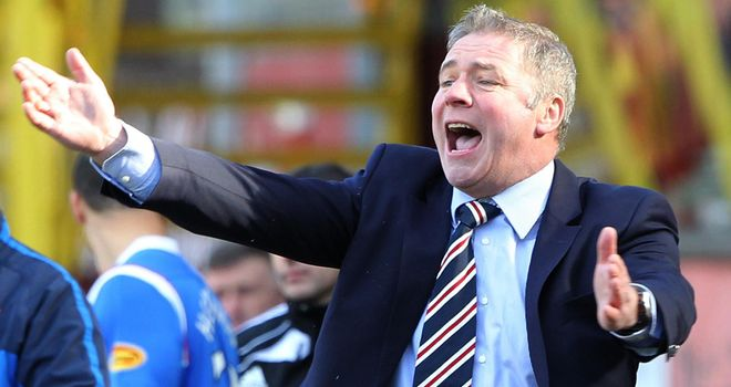 Ally McCoist: Rangers boss wants the situation at Ibrox resolved