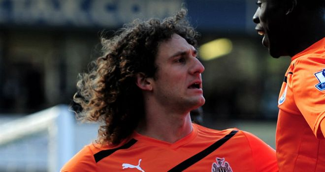 Fabricio Coloccini: Suffered hamstring injury in 3-1 win over West Brom