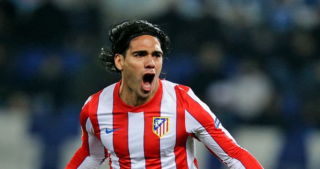 Falcao: Happy at Atletico Madrid and will not be pushing for a summer switch