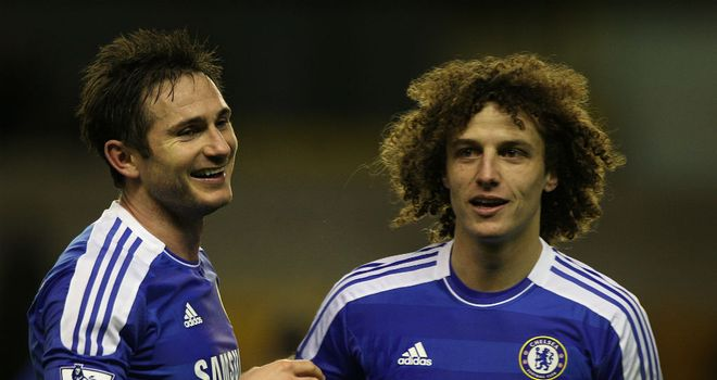 David Luiz: Chelsea defender insists he was not criticising team-mate Frank Lampard