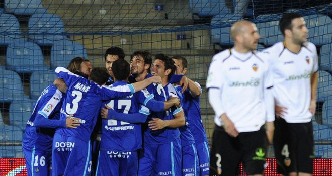 Getafe: End the season against Real Zaragoza