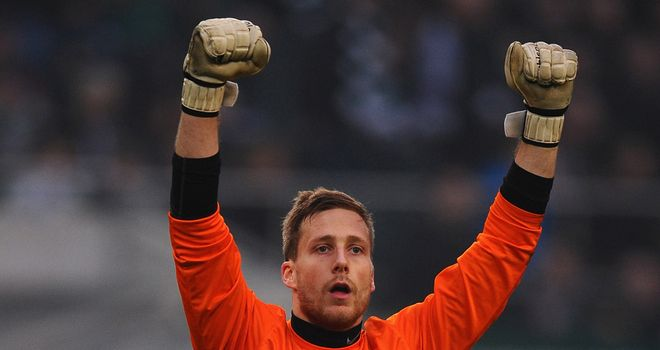Oliver Baumann: Has penned a new deal at Freiburg