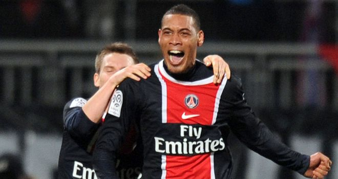 Guillaume Hoarau: Set to leave PSG as a free agent next summer