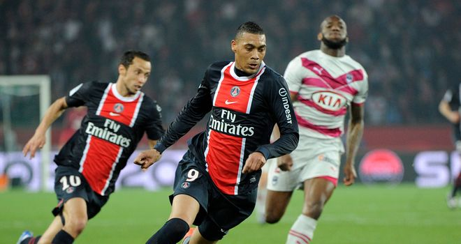 Guillaume Hoarau: Set to leave PSG