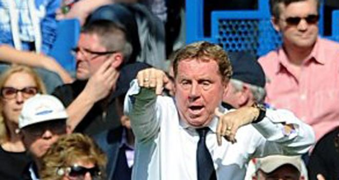 Harry Redknapp: The Spurs manager is desperate to win their first FA Cup since 1991