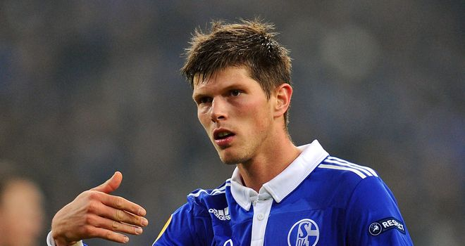 Klaas-Jan Huntelaar: Netted his 25th Bundesliga goal of the season in draw with Augsburg