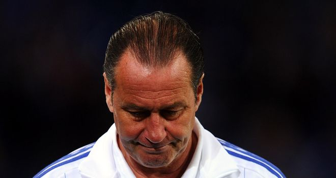 Huub Stevens: Eyeing top spot, but will not panic if Schalke finish second