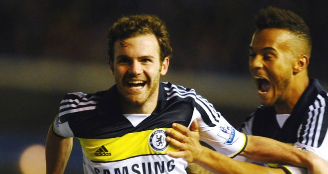 Juan Mata: Looking to help Chelsea finish the season on a high