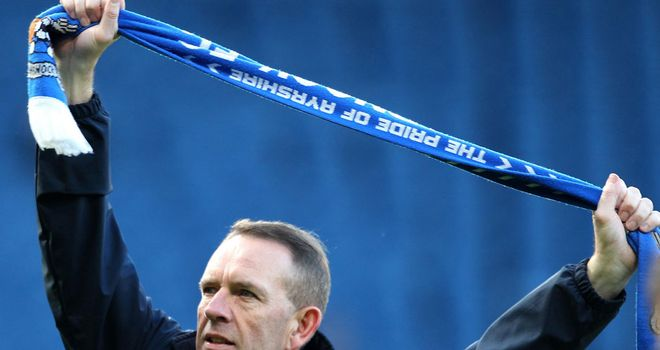 Kenny Shiels: Hoping to extend his deal at Kilmarnock after bringing a trophy to the club