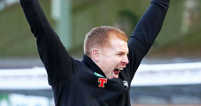 Neil Lennon: Celtic manager is celebrating the best day of his career after winning the SPL title