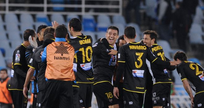 Levante: 1-0 victors over Getafe