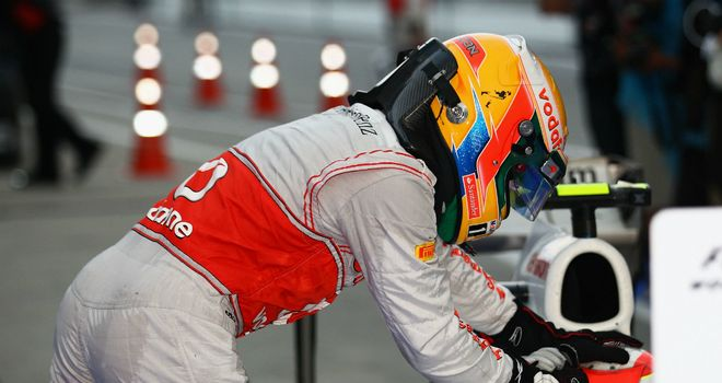 Lewis Hamilton: Paid tribute to Perez and Alonso