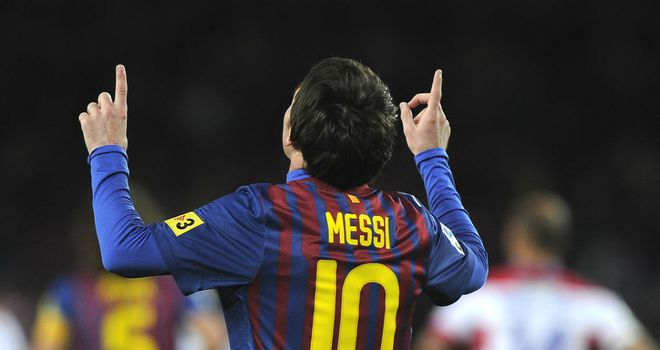 Lionel Messi: Barcelona's all-time leading goalscorer following his hat-trick on Tuesday