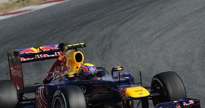 The Red Bull RB8 is set to look very different from Saturday