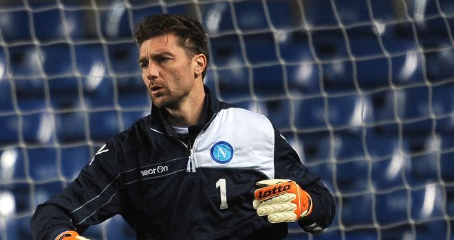 Morgan De Sanctis: Looking to knock Chelsea out