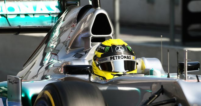 Nico Rosberg: Completed 128 laps of running on Thursday