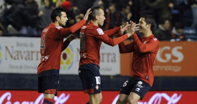 Osasuna: Looking for Europa League place