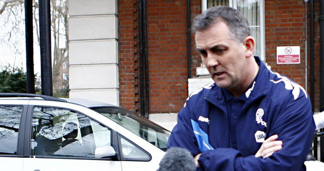 Owen Coyle: Says Fabrice Muamba is continuing to recover well