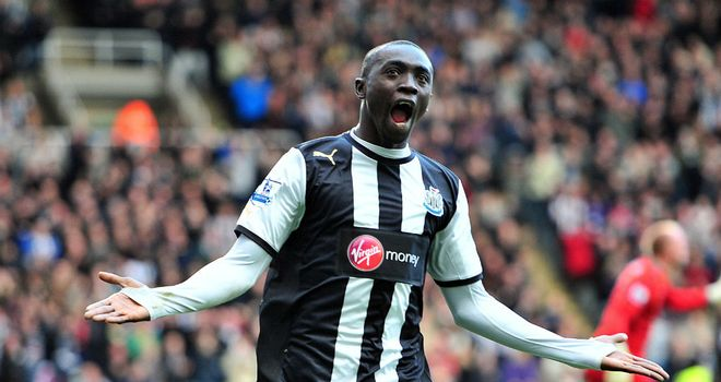 Papiss Cisse: Has made a sensational start to his Newcastle career