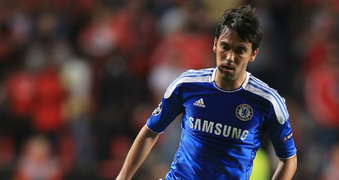 Paulo Ferreira: Started for the first time in 2012 for Chelsea against Benfica