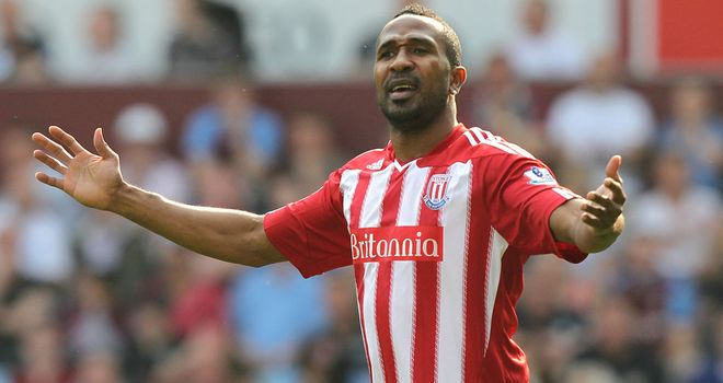 Ricardo Fuller: The Stoke striker was sent off against Chelsea in his only Premier League start this season