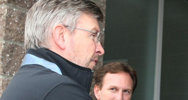 Christian Horner: Has his eyes on Ross Brawn's Mercedes team for qualifying